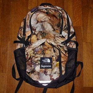 969b5c26 Supreme Bags | X The North Face Pocono Leaves Backpack | Poshmark